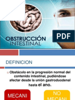 Gastro - Obstruccion Intestinal