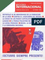 Revista Internacional - Nuestra Epoca N°10 - Edición Chilena - Octubre 1982