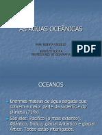 AS ÁGUAS OCEÂNICAS