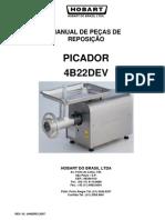4B22DEV MANUAL DE PEÇAS PICADOR