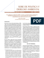 Serie de Política y Derecho Ambiental No 24, SPDA