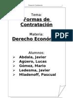 DERECHO ECONOMICO monografia