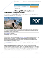 Off the Grid Families Pioneer Sustainable Energy Lifestyles - CSMonitor