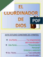Cordinador del culto preparado por Evelyn Vera de Chile