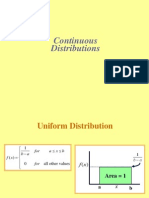 Continuous Distribution 1