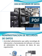 Admin is Trac Ion de Recursos de Datos