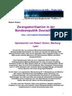 Strahlenfolter - Robert Walter aus Marburg - Strahlenterror