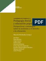 Cuaderno TRABAJO Nº 2-Pedagogía Social y educación popular