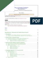 Econometría I Tema 1 Especificación