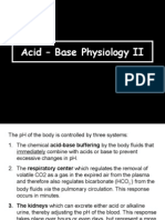 Acid-Base Physiology 7030 II