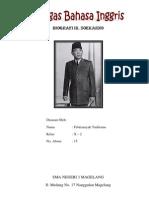 Biografi Ir. Soekarno