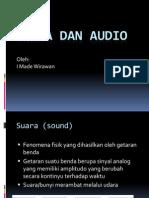 Sesi Suara Dan Audio