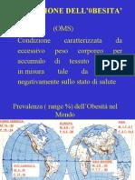 Obesità Lezione 4 Anno 2006
