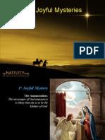 The Joyful Mysteries Tassel Vigil