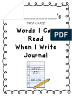 Read Write Journal