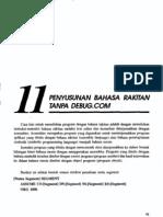Bab11-Penyusunan Bahasa Rakitan Tanpa Debug Com