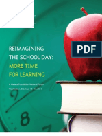 Re Imagining the School Day More Time for Learning