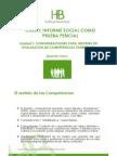 Consideraciones Para Informe de Competencias Parent Ales