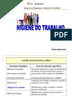 Tst - Higiene Do Trabalho - pós-Graduação Isla