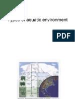 2 - Types of Aquatic Environment