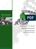 Keeping Up With Biotechnology Innovation