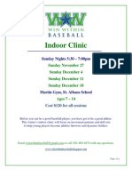 Win Within Baseball_Winter 2011 Indoor Clinic_ Registration Form