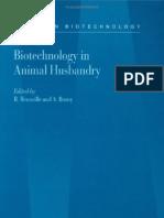Biotechnology in Animal Husbandry Volume 5