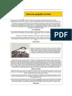 6°Ubicación geográfica de Chile