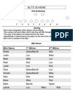 Rangers 2012 4-2-5 Playbook - Blitz Hole Numbering