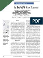 Ieee 80211s the Wlan Mesh Standard