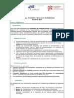 Programa Curso Generacion Eoloelectrica 2011
