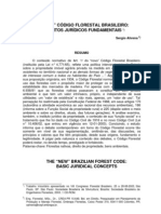 "O ""NOVO"" CÓDIGO FLORESTAL BRASILEIRO:CONCEITOS JURÍDICOS FUNDAMENTAIS"