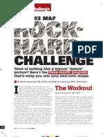 Bodybuilding - The Rock Hard Challenge (Month 1 Training)