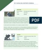 Flora y Fauna Df