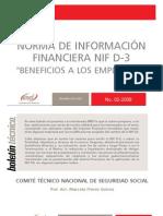 NIF D-3 CASO