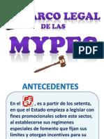 Marco Legal de Las Mypes