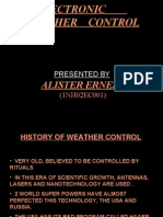 Electronic Weather Control