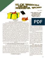 November Tid Bits of Wisdom 2011 Press