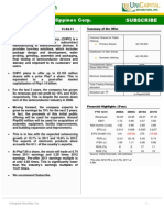 Cirtek Holdings Corp. Equity Research Report