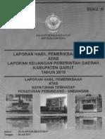 Garut - LHP BPK TA 2010_Buku 3
