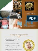 Alergias en pediatría