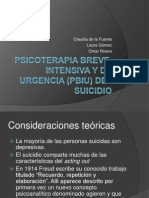 clase suicidio