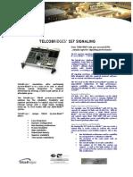 TelcoBriges SS7 Spec Sheet
