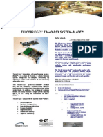 TelcoBriges TB-640-DS3 Spec Sheet
