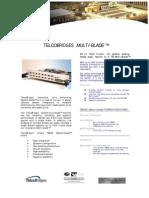 TelcoBriges TB Multi Blade Spec Sheet