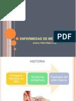 ENFERMEDAD DE MENIÉRE