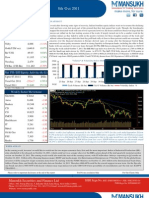 Weekly Market Outlook 05 November 2011-Mansukh Investment and Trading