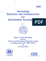 Unep Report - Sustaining EE&C for SD
