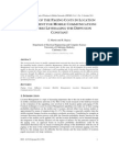 Analysis Of the Paging Costs In Location Management for Mobile Communications Networks Leveraging The Diffusion Constant