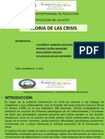 Teoria de Las Crisis